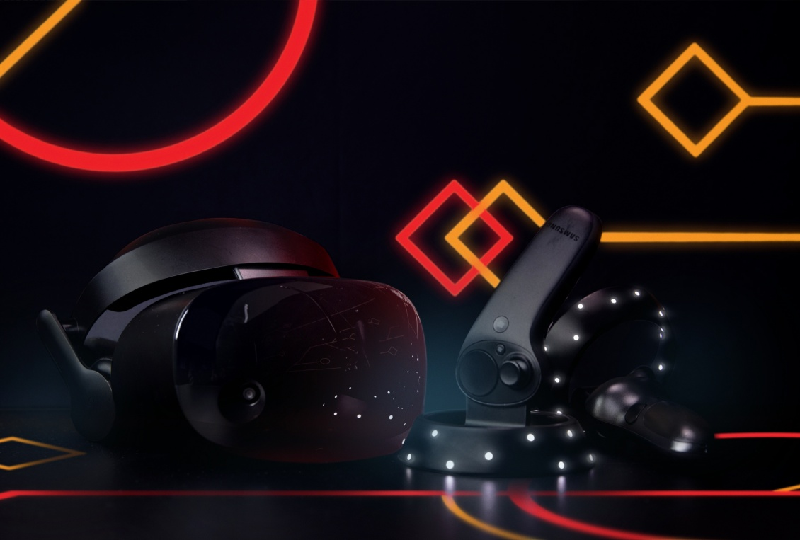 VR headset and controls